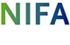 Blue and green NIFA logo