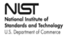 Black on white NIST logo